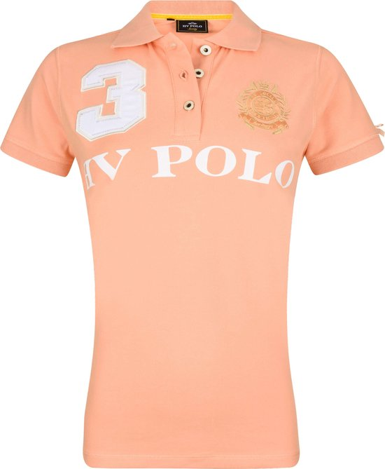 HV Polo Favouritas Eques KM - Polo Shirt - Peach - L