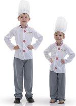 RUBIES FRANCE - Witte chefkok outfit voor kinderen - 110/122 (5-7 jaar)
