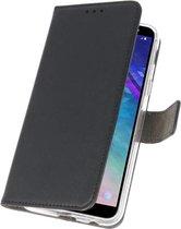 Bestcases Pasjeshouder Telefoonhoesje Samsung Galaxy A6 (2018) - Zwart