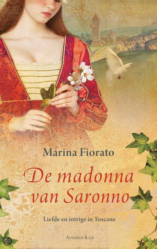 Cover van het boek 'De madonna van Saronno' van Mariana Fiorato