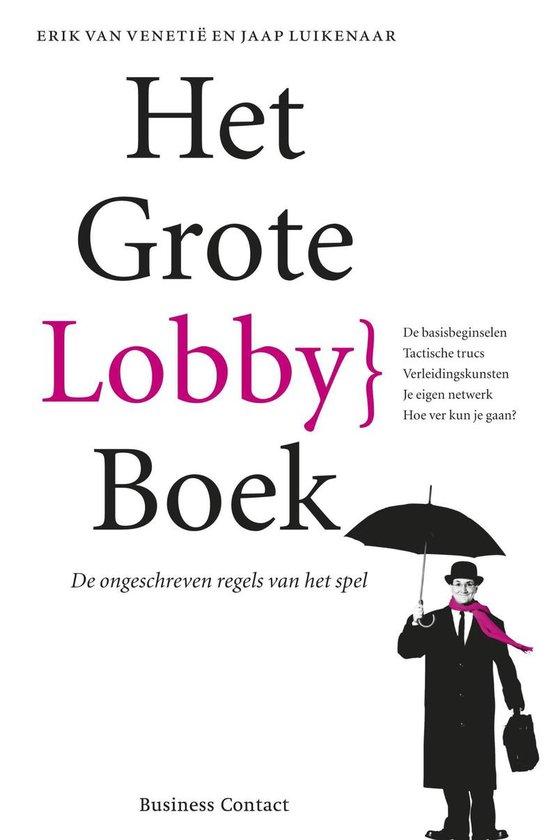 Cover van het boek 'Het grote Lobbyboek'