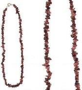 Splitketting Granaat - collier