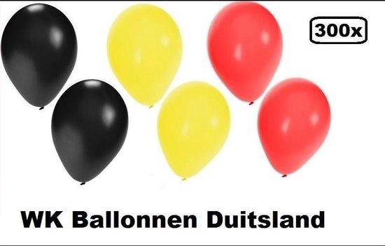 300x Ballonnen Duitsland - ballon helium lucht Belgie Duitsland landen EK WK festival feest party
