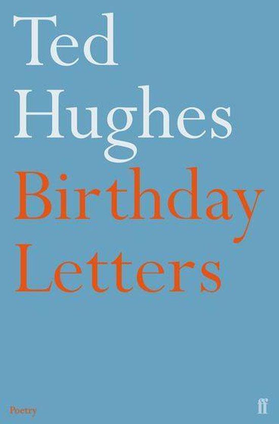 Boek cover Birthday Letters van Ted Hughes (Onbekend)