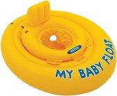Zwemband Intex Baby Float Geel 70 /zwemtrainer/ zwemband 6-12 mnd 11 kilo