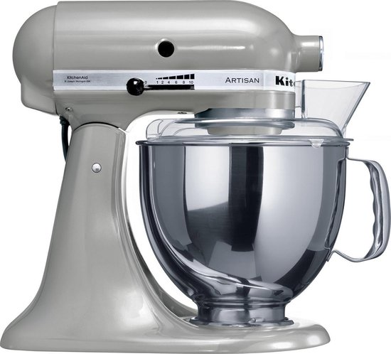 KitchenAid Artisan 5KSM150PSEMC - Keukenmachine - Metaalchroom