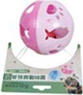 Bal om mee te spelen in de kleur roze