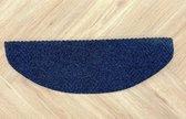 Zelfklevende Halve Maantjes voor Trap - 13 Stuks - Blauw - 65x22x3,5cm - Trapmatten - Trapmatten set