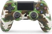 Draadloze Vervangende Dualshock Controller - Geschikt voor PS4 - Camouflage Groen