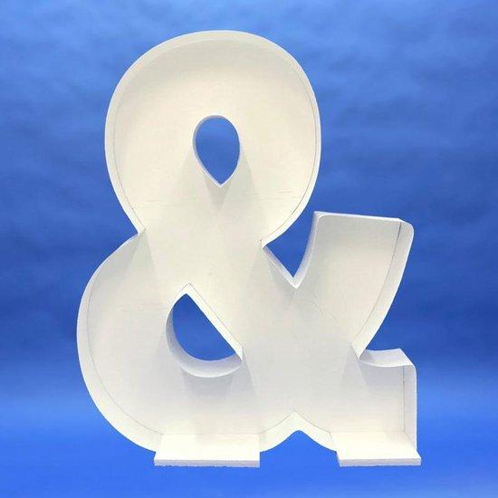 Ballon Mozaiek frame Letter & (100 cm)