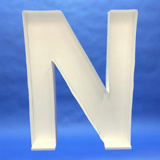 mozaïek frame letter n  (100x77 cm ) pearls of eden