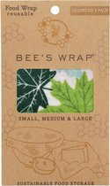 Bee's Wrap 3 pack S/M/L - Green Forest