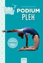 Boek cover Turntoppers 6 -   Podiumplek van Simone Kortsmit