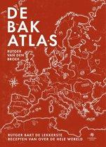 Boek cover Kookatlassen  -   De bakatlas van Rutger van den Broek (Hardcover)