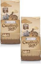Versele-Laga Country`s Best Cuni Fit Plus - Konijnenkorrel - Konijnenvoer - 2 x 20 kg