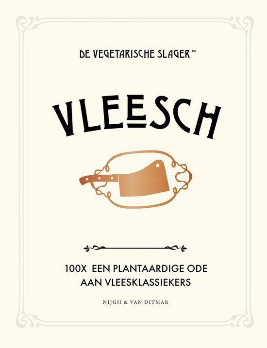Boek cover Vleesch van De Vegetarische Slager (Hardcover)