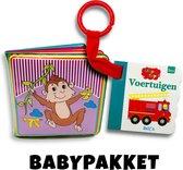Babypakket - Buggyboekje + Badboekje - 2 babyboekjes - Voordeelpakket