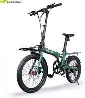 Bol.com-Hi-Flying Top 706a Elektrische fiets Elektrische Vouwfiets Dual battery 250w 2x7ah Samsung accu-aanbieding