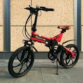 Bol.com-Eco Flying  F501 Elektrische fiets - Elektrische Vouwfiets  9.6ah LG Accu-aanbieding