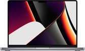 Apple MacBook Pro (Oktober, 2021) MKGQ3N/A - 14 inch - Apple M1 Pro - 1 TB - Space Grey