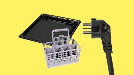 Accessoires voor grote keukenapparaten