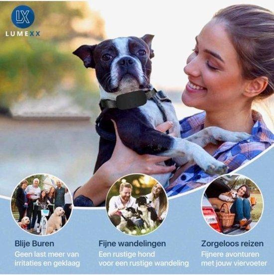 Billy & Becky - Anti Blafband - Diervriendelijk & Zonder Schok - Touchscreen - 2021 model - Honden - Opvoedingshalsband - Halsband - Blafband Voor Honden - Trainingsband - Inclusief Handleiding - USB Oplaadbaar - Zwart