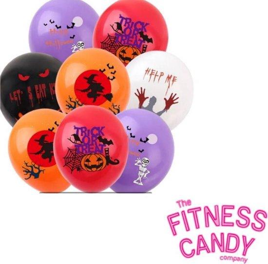 Halloween ballonnen - Set van 6 [Heks / Pompoen / Trick or Treat]