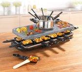 GourmetMaxx 0972 - Gourmetstel - Graniet-grijs (mat)