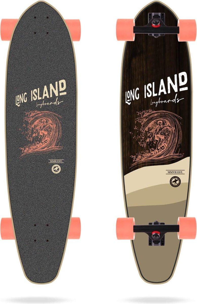 Long Island Stamp kicktail longboard 37