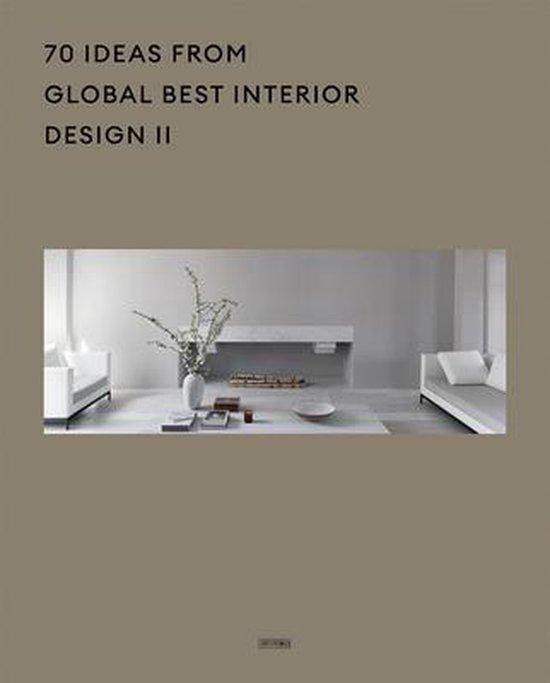 Boek cover 70 Ideas From Global Best Interior Design II van Artpower International Publisher (Hardcover)