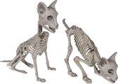 JML Commerce Halloween Katten Skelet - Halloween Decoratie - Decoratie