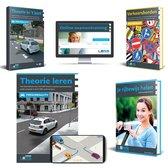 AutoTheorieboek Rijbewijs B 2021 met 50 Online Examens - Totaal theorie pakket voor theorie Rijbewijs B - Samenvatting - Praktijkbegeleiding - Verkeersborden - Compleet Pakket 2021