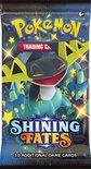 POKEMON Kaarten - SHINING FATES - 10 stuks - Booster - Verzamelkaarten - ORIGINELE Pokemon kaartenset Trading Cards