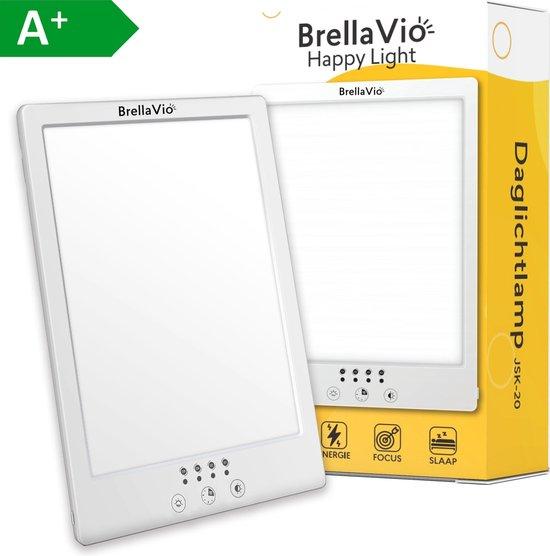 BrellaVio® Happy Light Daglichtlamp - LED Lichttherapie 12.000 LUX - Winterdepressie Daglicht Lamp - SAD Daylight Therapy - Hobby Lampen