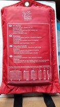 Brand Blusdeken 100 x 100 cm in nylon hoes voor thuis in de keuken