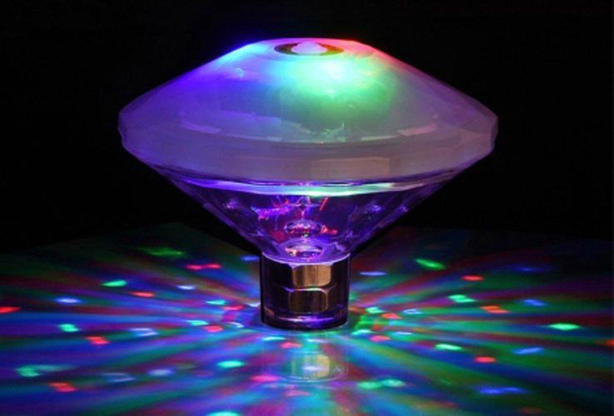 Drijvende Badlamp - 8 Lichtmodi - Feestelijke Verlichting Voor in je Badkuip of Zwembad