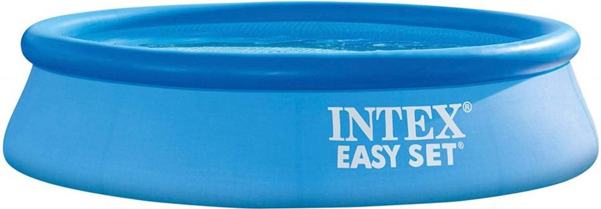 opblaaszwembad Easy Set 305 x 61 cm pvc blauw 28116NP