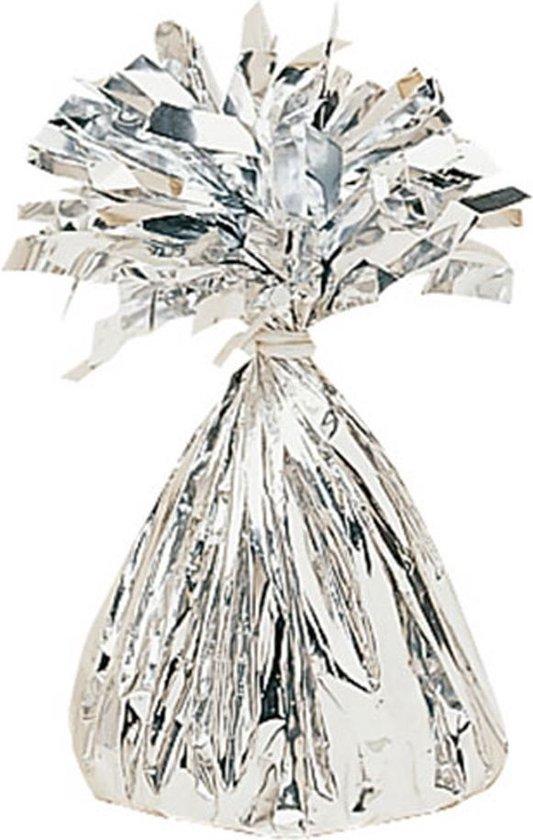 Ballongewicht Zilver Folie -  152 gram