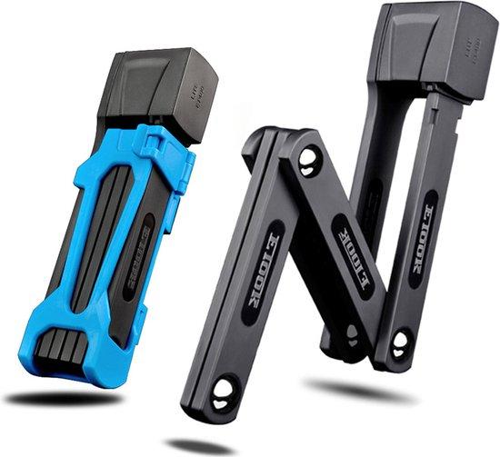 LLOCX Compact Vouwslot van 750mm + 2 Unieke Sleutels én Montagemateriaal in...