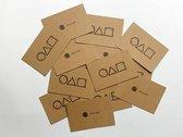 Squid Game visitekaartje - 10pcs - Squid Game Business Card - Uitnodigingskaart - Netflix Squid Game Card - Kaartjes Squid Game