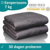 Veilura verzwaringsdeken - Luxe kwaliteit - 7, 8, 9 of 10 KG - 150 x 200 cm - Premium Weighted blanket / Verzwaarde deken - 7 KG