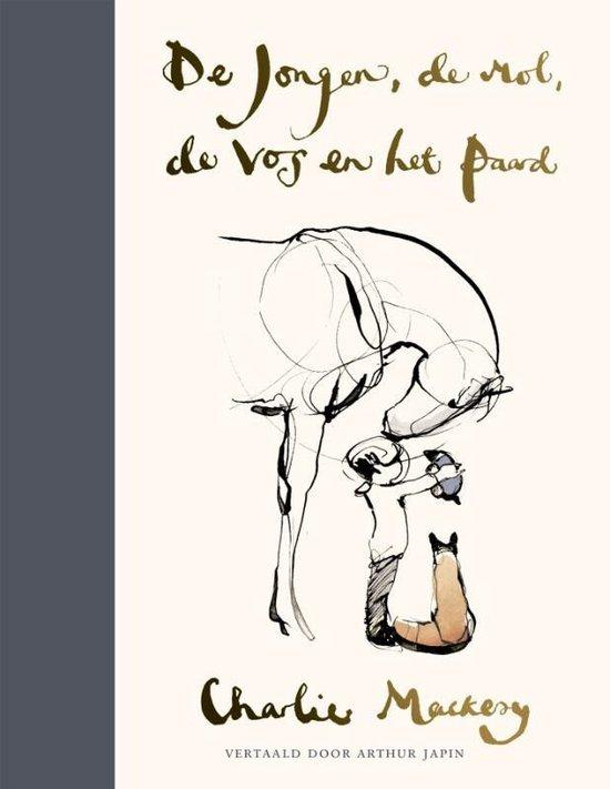 Boek cover De jongen, de mol, de vos en het paard van Charlie Mackesy (Hardcover)