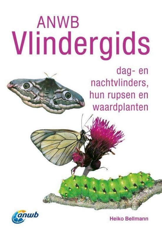 Boek cover ANWB Vlindergids van Heiko Bellmann (Paperback)