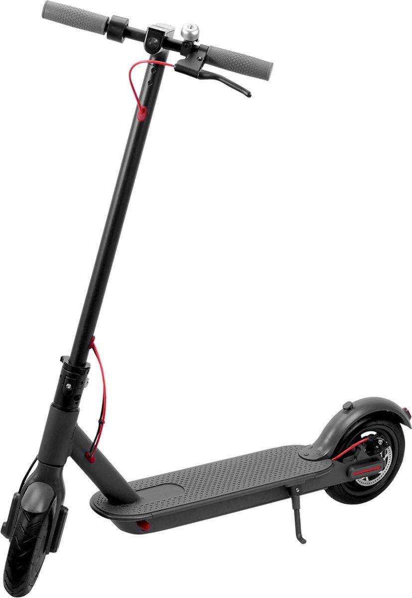 Elektrische Step- Elektrische Scooter geschikt voor Volwassenen D8 Pro- 8.5 inch Massieve- Opvouwbaar Draagbaar LED scherm - 25 km / u - Voorzien van Drie Snelheden - Handremsysteem - geschikt voor Kinderen - Grijs