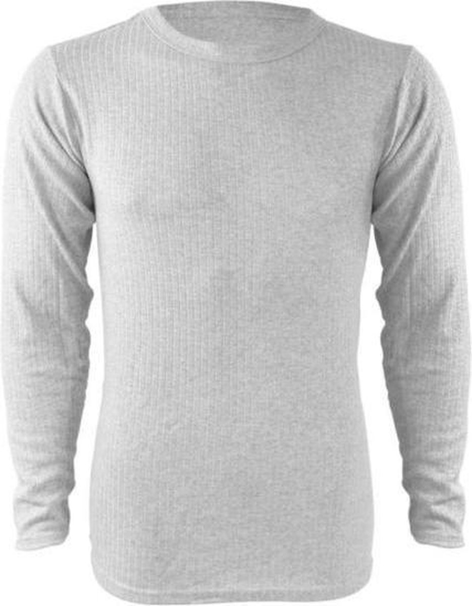 Thermo ondergoed, thermokleding, thermoshirt, heren thermo shirt lange mouwen - M