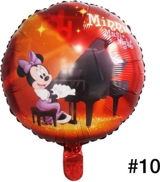Disney Mickey of Minnie Mouse Folieballon dubbelzijdig/Verjaardag/Feest/Folieballon(10)