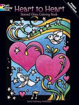 Heart to Heart Stained Glass Coloring Book