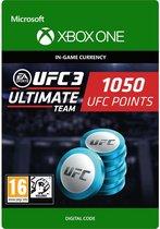 UFC 3 - 1.050 UFC Points - Xbox One
