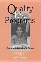 Quality ESL Programs
