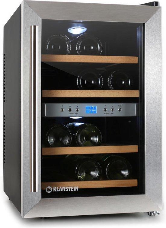 Wijnkoelkast: Klarstein Reserva 10011580 - Wijnkoelkast - 12 flessen, van het merk Klarstein